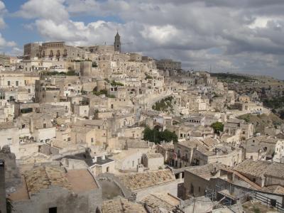 行きあたりばったり、ヨーロッパ周遊一人旅2012 Vol.53 意外に穴場かも?洞窟住居の町、マテーラ