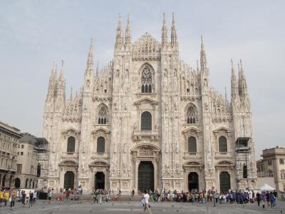 行きあたりばったり、ヨーロッパ周遊一人旅2012 Vol.55 ファッションとは無縁なんです、ミラノの街歩き