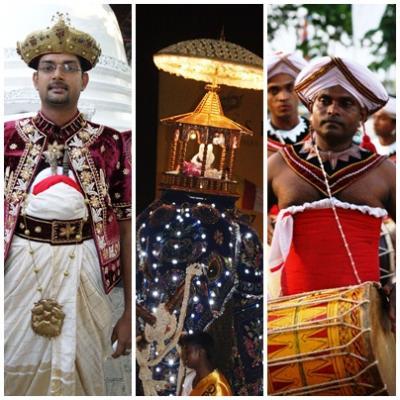 ガンガラ―マヤ寺院ぺラヘラ祭りを見学