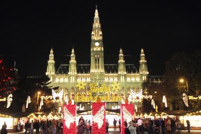 ウィーン クリスマスマーケット巡り