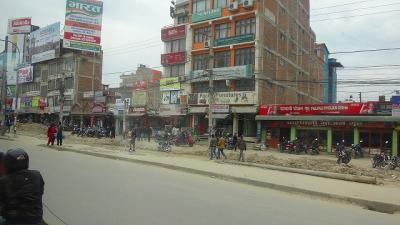 ネパール最大の仏塔のあるボダナートへ