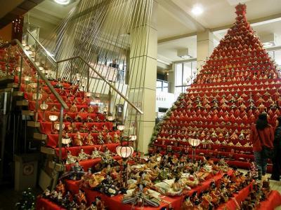 鴻巣びっくりひな祭り2013・・・③鴻巣市役所びっくりひな祭り展示会場編