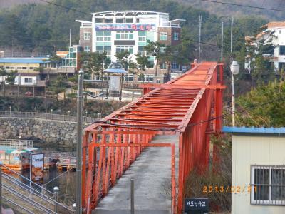 馬山 韓国のクウェー橋 / 海洋ドラマセット場 / パールパラダイス