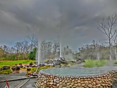 クアラルンプール~ホーチミン+チェンマイ滞在旅日記2013(チェンマイ滞在12ーサンカムペーン温泉)