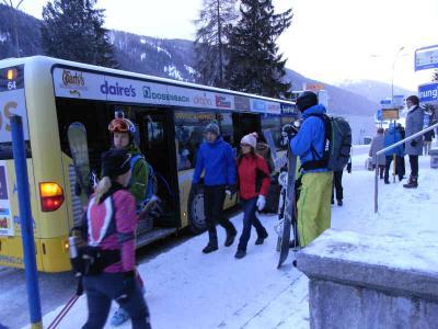 スイス スキー旅行   その⑤  ダボスに移動 そしてチューリッヒへ