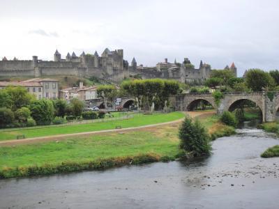行きあたりばったり、ヨーロッパ周遊一人旅2012 Vol.62 城塞都市カルカッソンヌのシテへ
