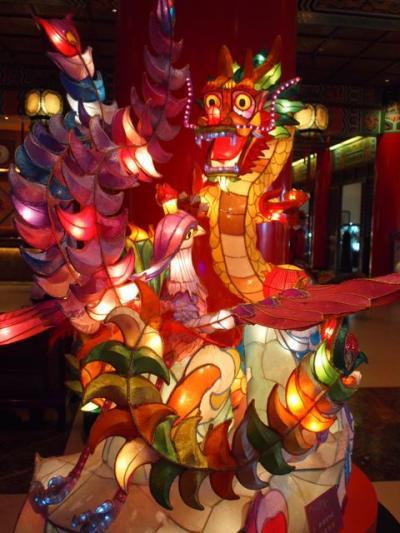 台北のランタンフェスティバル と 平渓天燈節に行く③ 圓山大飯店と食べたものなど篇