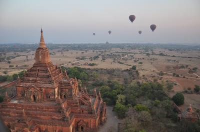 多くの人との出会いに感謝。ミャンマー1人旅。バガン①(ニャウンウー)