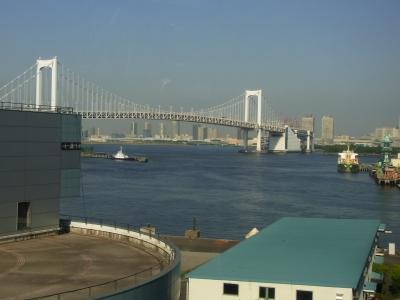 やはり東京モノレールの景色の一番の見所はこれでしょうか!!