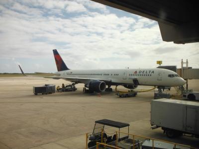 DELTA航空ビジネスクラスでサイパンマラソンと観光(復路編:DL297)