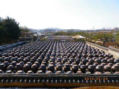 【京畿道・安城】 ソイル農園のチョングクチャン / 福巨マウルの虎をテーマにしたアートマウル