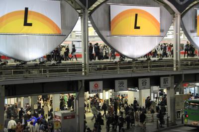 東横線渋谷駅 the last day