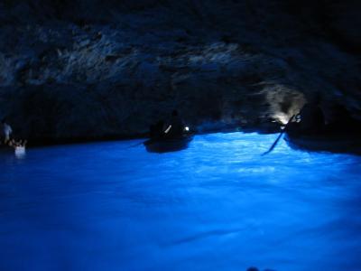 世界遺産めぐり 女2人旅イタリア7泊10日 7日目青の洞窟・ポンペイ弾丸日帰り