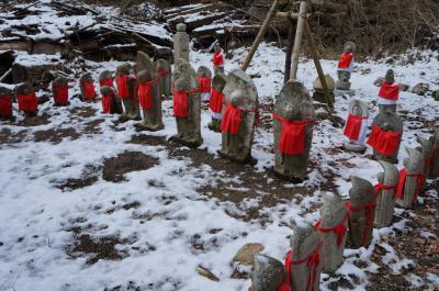 2013西国巡礼 雪の槇尾山[4番 施福寺]