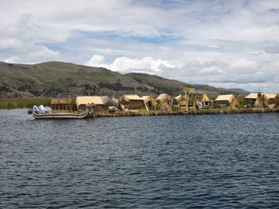 ボリビアとペルーの国境に位置するチチカカ湖へ