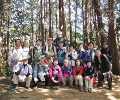 ハイキング倶楽部 第3回 越生梅林と大高取山 Hiking in Ogose Ume-Garden & Mt.Oh-Takatori