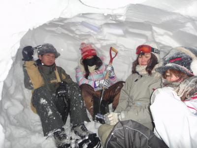 雪中キャンプ2013