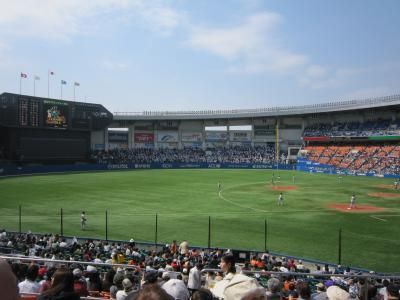 QVCマリンフィールドに野球を見に行こう!!