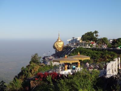 有休1日週末ミャンマーの旅(2)-1落ちそうで落ちないロック!チャイティーヨー・パヤーそしてバゴーへ