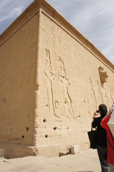 結婚30周年記念エジプト旅行⑧ デンデラ ハトホル神殿観光~帰国