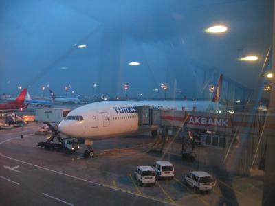 2012年12月 トルコ航空で飛ぶオランダ・ベルギー・トルコ(14 TK50便(イスタンブール→成田))