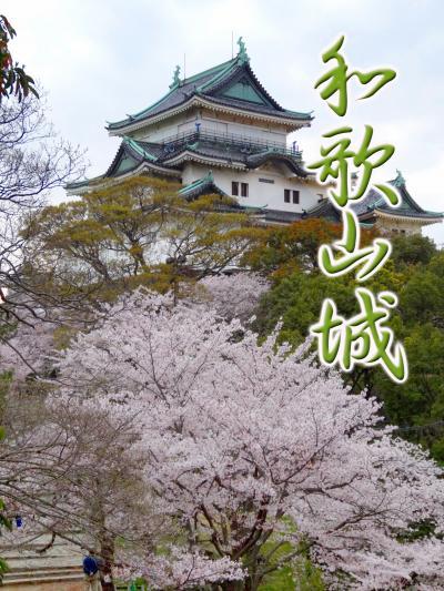 和歌山城の桜