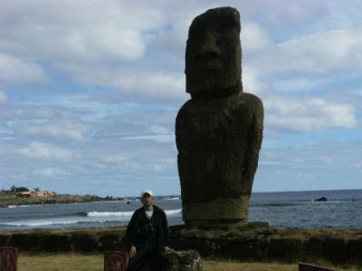 中南米の旅 10日目「サンチャゴからイースター島へ」