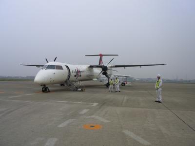 松山空港から伊丹へ向かいます