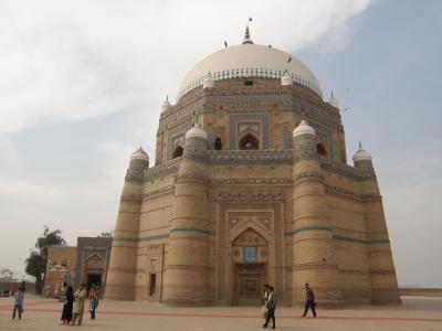 PAKISTAN 8 ムルターンで街歩きしながら墓廟巡り Multan