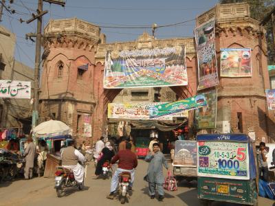 PAKISTAN 9 ムルターンで城門くぐりバザール巡り Multan