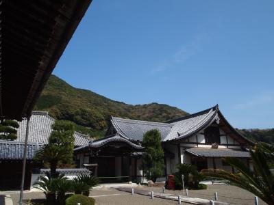 和歌山・味噌と醤油の発祥地興国寺と、美しい海岸の白崎海洋公園へ