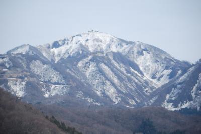 北陸自動車道の米山サービスエリア付近の風景
