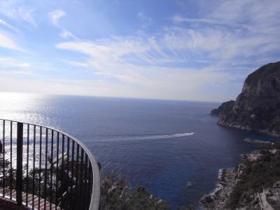 初めての一人旅英語もイタリア語も片言だけど、みんな優しかった! その4~カプリ島へ行く