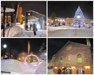 冬の小樽から札幌  その2 千歳でスープカレー札幌でジンギスカン