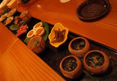 息子の卒業旅行で京都へ 白川 祇園 東山花灯路 祇園ほりべさんでの美味しいお料理 2013年3月