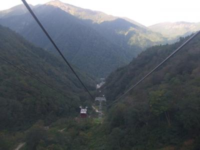2007 モグラの駅と谷川岳と山間の温泉+αの旅【その3】谷川岳ロープウェイ