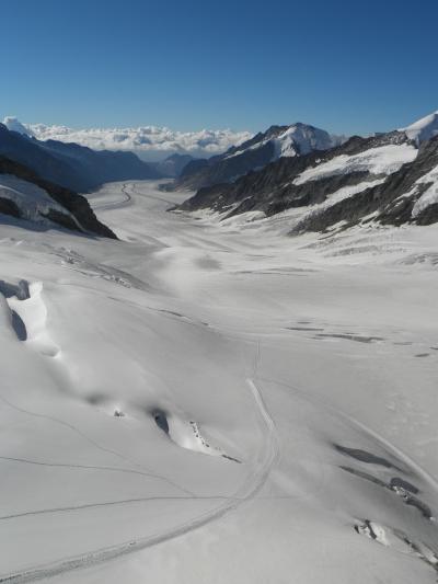 2012夏のヨーロッパ⑪~スイス・ユングフラウ地方(ユングフラウヨッホ)