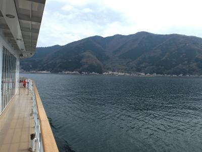 海津大崎湖上観桜とソラノネ食堂