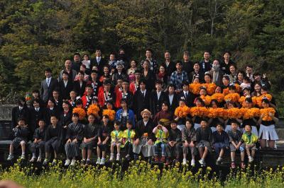 2日続けて菜の花舞台を見に小土肥へ…2013.04.14 =菜の花舞台(その3)=