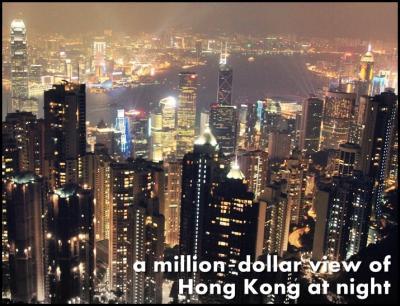 【香港街歩き Vol.4】 香港の線路市場とビクトリアピークからの夜景