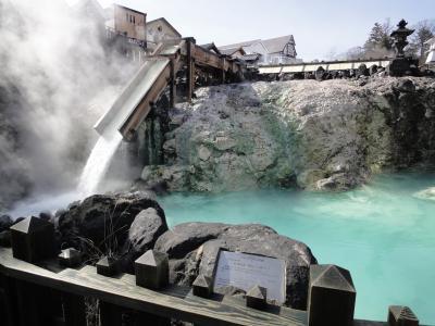 温泉を満喫