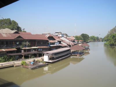 2013 タイ・スパンブリに寄って百年市場(タラート・ロイビー)など行ってみました