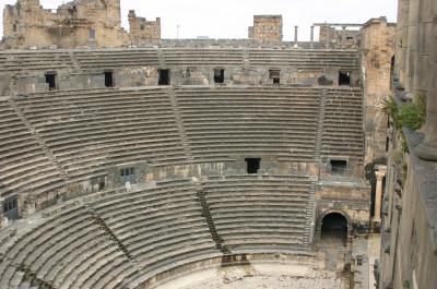 シリア遺跡の旅 シリアとヨルダン国境の街=ボスラ編