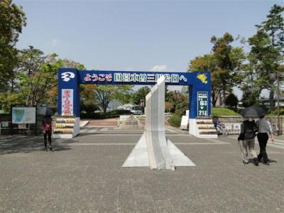 木曽三川公園チューリップフェア2013と多度みぞのグリーンファームいちご狩り