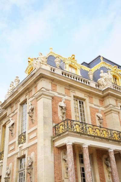 パリ旅行 第2日目 (ヴェルサイユ宮殿、小トリアノン、凱旋門)