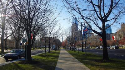 アメリカ15日間の旅(38) モーテル近くの早朝散歩