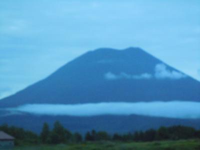 百名山・北海道 後方羊蹄山