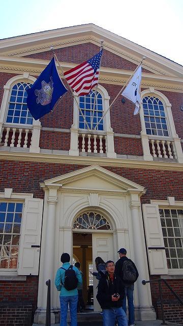 アメリカ15日間の旅(46) フィラデルフィア歴史地区の街歩き 上巻