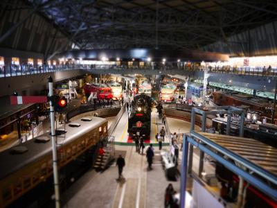 男のロマンあふれる鉄道博物館