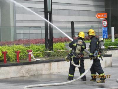 上海の龍の夢虹口店・消防訓練